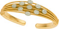 Estate Jewelry:Bracelets, Marco Bicego Diamond, Gold Bracelet. ...