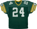Football Collectibles:Uniforms, Mid 1980's Mossy Cade Game Worn Green Bay Packers Jersey....