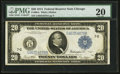 Large Size:Federal Reserve Notes, Fr. 991c $20 1914 Federal Reserve Note PMG Very Fine 20.. ...