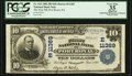 National Bank Notes:Pennsylvania, Port Royal, PA - $10 1902 Plain Back Fr. 632 The First NB Ch. #(E)11369. ...