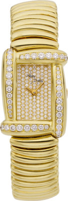 "Henry Dunay Lady's Diamond, Gold ""Sabi"" Wristwatch"