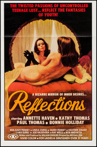 "Reflections & Other Lot (Vivid, 1977). One Sheets (2) (25"" X 38"", 27"" X 41"") Flat Folded. Ad..."