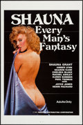 """Movie Posters:Adult, Shauna: Every Man's Fantasy (Reeltime, 1985). One Sheet (27"""" X 41"""") Flat Folded. Adult.. ..."""
