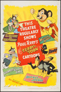 "Movie Posters:Animation, Terry-Toons Stock (20th Century Fox, 1950). One Sheet (27"" X 41""). Animation.. ..."