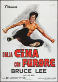"Movie Posters:Action, The Chinese Connection (Titanus, 1973). Italian 2 - Foglio (39"" X 55""). Action.. ..."