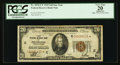Small Size:Federal Reserve Bank Notes, Fr. 1870-C* $20 1929 Federal Reserve Bank Star Note. PCGS Apparent Very Fine 20.. ...