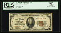 Fr. 1870-C* $20 1929 Federal Reserve Bank Star Note. PCGS Apparent Very Fine 20
