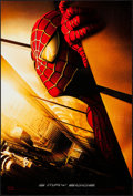 "Movie Posters:Action, Spider-Man (Columbia, 2002). One Sheet (27"" X 40""). DS AdvanceWorld Trade Center Style. Action.. ..."