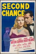 """Movie Posters:Crime, Second Chance (20th Century Fox, 1947). One Sheet (27"""" X 41""""). Crime.. ..."""