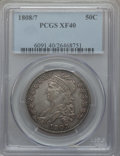 Bust Half Dollars: , 1808/7 50C XF40 PCGS. PCGS Population (37/93). NGC Census:(25/106). Numismedia Wsl. Price for problem free NGC/PCGS coin ...