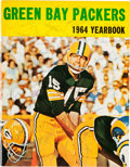 Football Collectibles:Publications, 1964 Green Bay Packers Team Signed Yearbook....