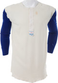 Baseball Collectibles:Others, 1975-76 Hank Aaron Game Worn Milwaukee Brewers Undershirt. ...