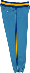 Baseball Collectibles:Uniforms, 1975 Hank Aaron Game Worn Milwaukee Brewers Pants....