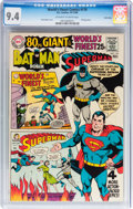 Silver Age (1956-1969):Superhero, World's Finest Comics #179 Twin Cities pedigree (DC, 1968) CGC NM 9.4 Off-white to white pages....