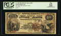 National Bank Notes:Maryland, Baltimore, MD - $10 1882 Brown Back Fr. 480 The Third NB Ch. # 814....