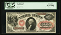 Large Size:Legal Tender Notes, Fr. 26 $1 1875 Legal Tender PCGS Choice New 63PPQ.. ...