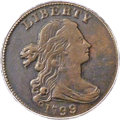 Large Cents, 1799/8 1C S-188, B-2, R.4 -- Surfaces Tooled -- PCGS Genuine....