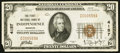 National Bank Notes:Missouri, Independence, MO - $20 1929 Ty. 1 The First NB Ch. # 4157. ...