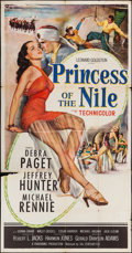 "Movie Posters:Adventure, Princess of the Nile (20th Century Fox, 1954). Three Sheet (41"" X79""). Adventure.. ..."