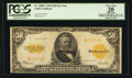 Large Size:Gold Certificates, Fr. 1200* $50 1922 Gold Certificate PCGS Apparent Very Fine 20.....