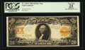 Large Size:Gold Certificates, Fr. 1185* $20 1906 Gold Certificate PCGS Apparent Very Fine 25.....