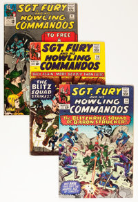 Sgt. Fury and His Howling Commandos Group (Marvel, 1964-67) Condition: Average VG/FN.... (Total: 50 Comic Books)