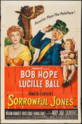 """Movie Posters:Comedy, Sorrowful Jones (Paramount, 1949). One Sheet (27"""" X 41""""). Comedy....."""