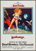 "Movie Posters:Science Fiction, Barbarella (Paramount, 1968). German A1 (23"" X 33""), and US Herald(4 Pages) (8"" X 11""). Science Fiction.. ... (Total: 2 Items)"