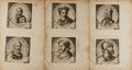 Art:Illustration Art - Mainstream, [Caesars]. Group of Six Engraved Portraits of Various Caesars. N.d.but likely late 17th or early 18th century. Two engravin...