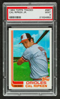 Baseball Cards:Singles (1970-Now), 1982 Topps Traded Cal Ripken Jr. #98T PSA Mint 9. ...