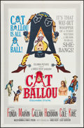 "Movie Posters:Comedy, Cat Ballou (Columbia, 1965). One Sheet (27"" X 41""). Comedy.. ..."