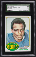 Football Cards:Singles (1970-Now), 1976 Topps Walter Payton #148 SGC 84 NM 7....