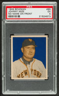 Baseball Cards:Singles (1940-1949), 1949 Bowman Johnny Mize, No Name on Front #85 PSA EX 5....