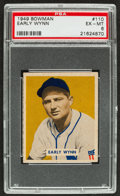 Baseball Cards:Singles (1940-1949), 1949 Bowman Early Wynn #110 PSA EX-MT 6....