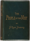 Books:Literature Pre-1900, H. Rider Haggard. The People of the Mist. London: Longmans,Green, and Co., 1894. Contemporary binding with bevelled...
