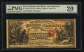 National Bank Notes:California, San Francisco, CA - $5 1870 Fr. 1136 The First National Gold Bank Ch. # 1741. ...