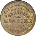 Civil War Merchants, 1863 J.I. Case & Co. Racine, WI, Fuld-700A-3b, MS63 Brown NGC....
