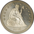 Proof Seated Quarters, 1884 25C PR65 Cameo PCGS....