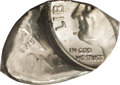 Errors, Undated 10C Roosevelt Dime--Flipover Double Strike on a Silver Fragment--MS63 PCGS....