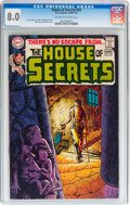 Bronze Age (1970-1979):Horror, House of Secrets #83 (DC, 1970) CGC VF 8.0 Off-white to whitepages....