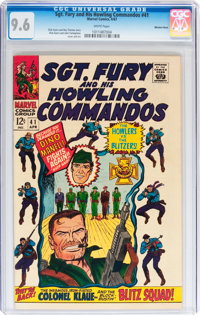 Sgt. Fury and His Howling Commandos #41 Western Penn pedigree (Marvel, 1967) CGC NM+ 9.6 White pages
