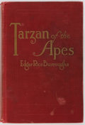 Books:First Editions, Edgar Rice Burroughs. Tarzan of the Apes. Chicago: A. C.McClurg & Co., 1914. First edition, third printing. Publish...