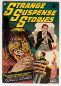 Golden Age (1938-1955):Horror, Strange Suspense Stories #5 (Fawcett Publications, 1953) Condition:FN....