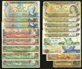 Canadian Currency: , Canada and More.. ... (Total: 17 notes)