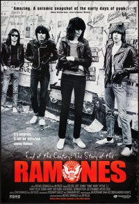"End of the Century: The Story of the Ramones (Magnolia Pictures, 2003). One Sheet (27"" X 40""). Rock and Roll..."