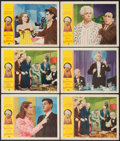 """Movie Posters:Comedy, The Senator was Indiscreet (Universal International, 1947). Lobby Cards (6) (11"""" X 14""""). Comedy.. ... (Total: 6 Items)"""