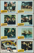 "Movie Posters:War, Sink the Bismarck! (20th Century Fox, 1960). Lobby Card Set of 8(11"" X 14""). War.. ... (Total: 8 Items)"