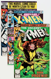 X-Men Group (Marvel, 1979-84) Condition: Average NM-.... (Total: 37 Comic Books)
