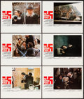 "Movie Posters:War, The Hiding Place (World Wide, 1975). Lobby Card Set of 10 (11"" X14""), Window Card (13.5"" X 21.5"") Advance, Program (Multipl...(Total: 14 Items)"