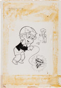 Original Comic Art:Covers, Warren Kremer Richie Rich #99 Cover Original Art (Harvey,1970)....